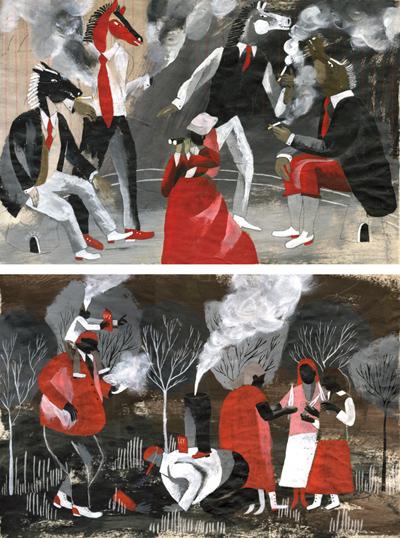 Santiago Solis, catalogo ilustradores 2009